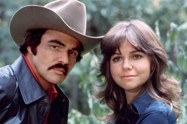 El actor Burt Reynolds en Smokey and the Bandit (1977).