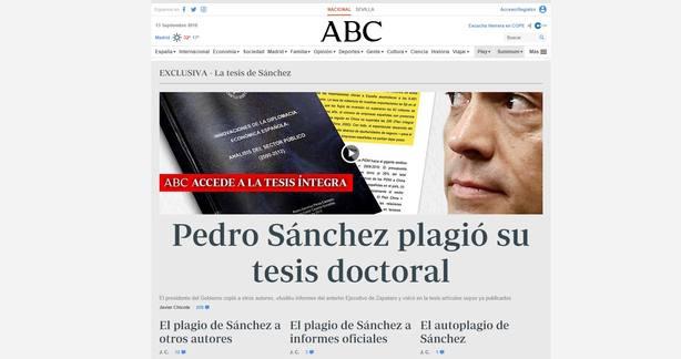 ABC se reafirma en sus acusaciones: No cederemos ante el matonismo del presidente