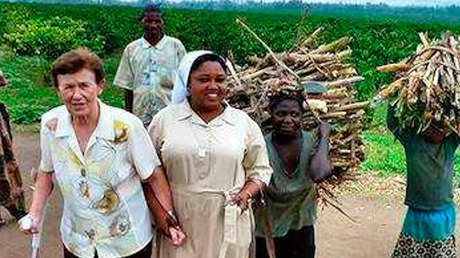 La Hermana Presentación ha vuelto para ayudar a sus siete hermanas en la misión