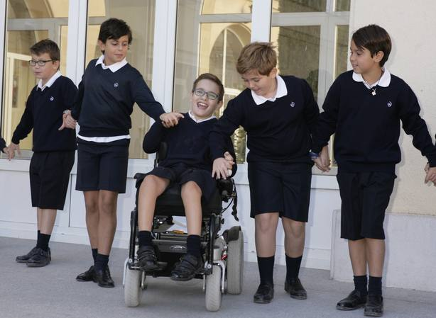 La ONCE reivindica el recreo como parte del proyecto educativo de los colegios y no como un simple paréntesis