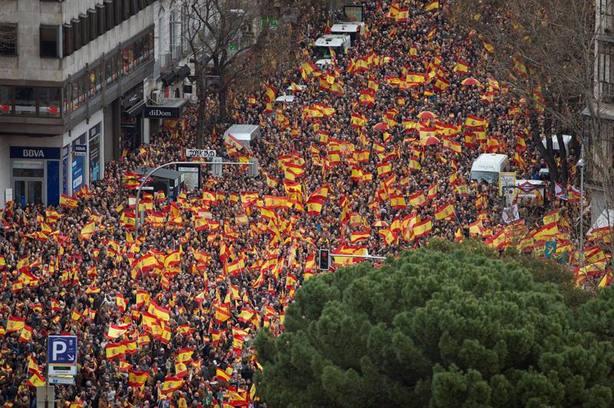 ¿Cómo se calculan los asistentes a una manifestación?