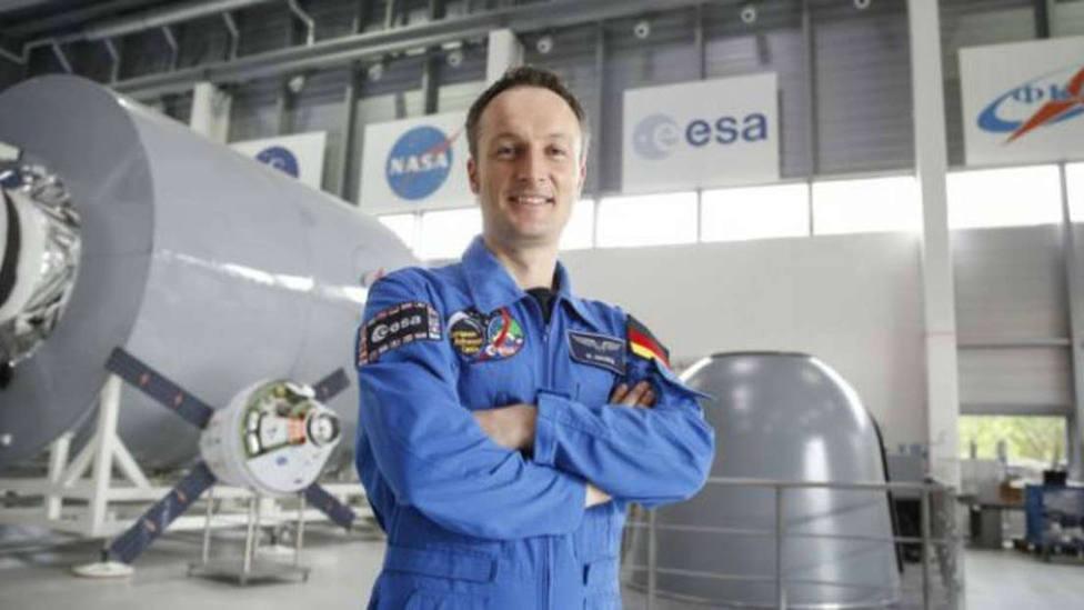El astronauta de la Agencia Espacial Europea (ESA)Matthias Maurer. EFE