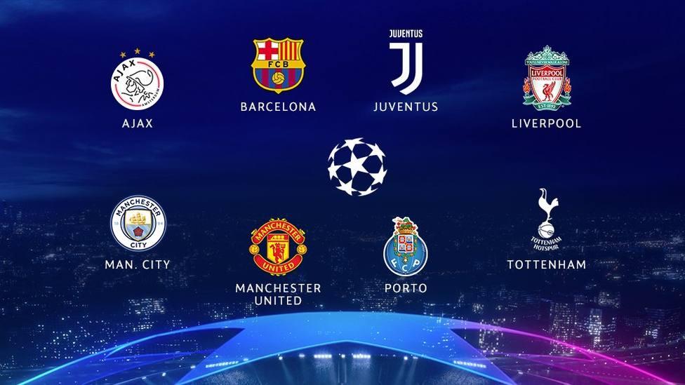 Clasificados para cuartos de final