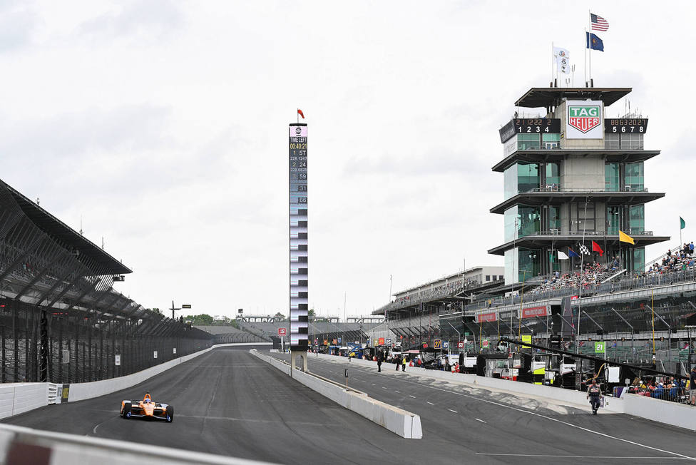 Fernando Alonso no correrá las 500 Millas de Indianapolis (EFE)