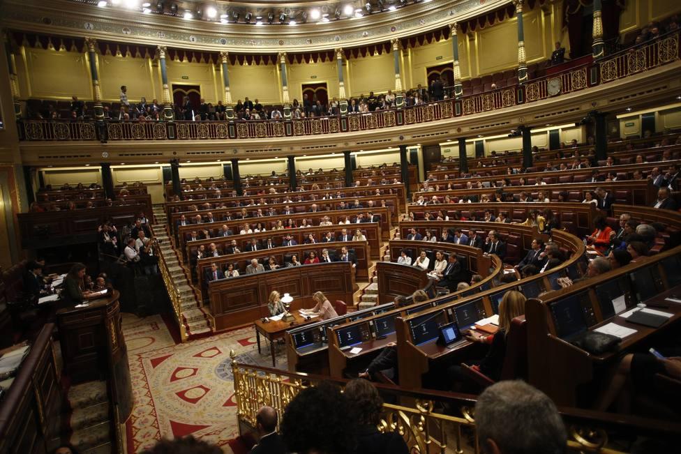 El Grupo Mixto reparte sus escaños del hemiciclo, CC y el PRC lindarán con Vox y EH Bildu se situará junto al PSOE