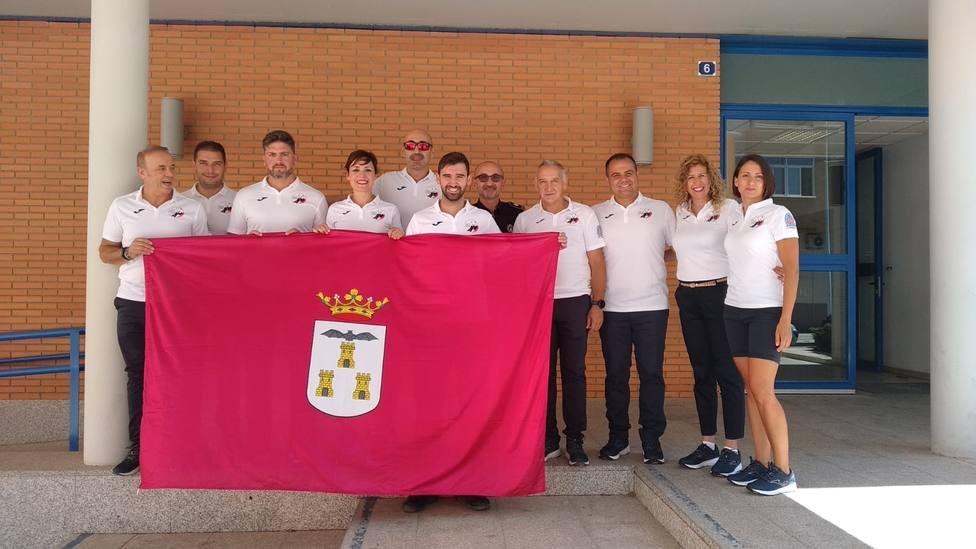 Delegación albaceteña para los Juegos Mundiales Policias y Bomberos.