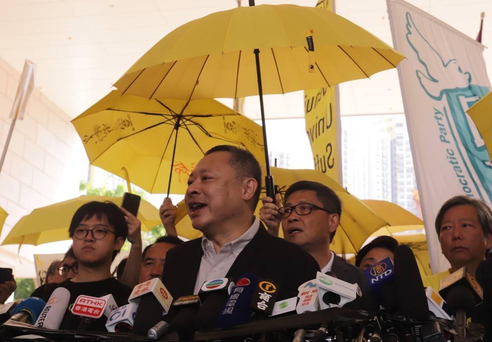 Uno de los líderes de la Revolución de los Paraguas de 2014 queda en libertad