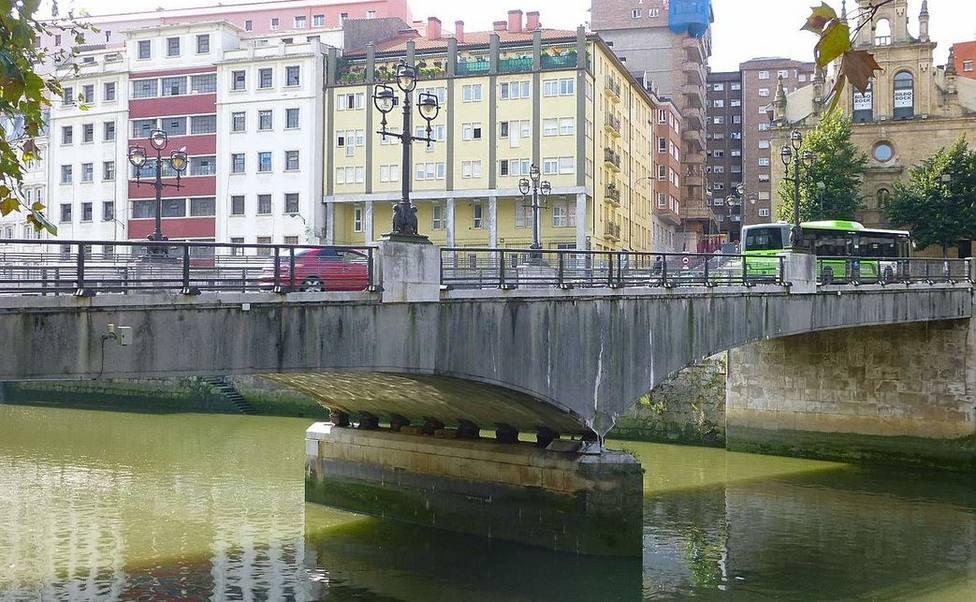 Puente de la Merced, Bilbao