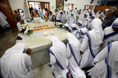 Mother Teresas 109th birth anniversary in India