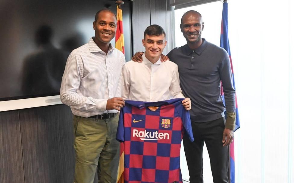Pedri presentado como jugador del FC Barcelona