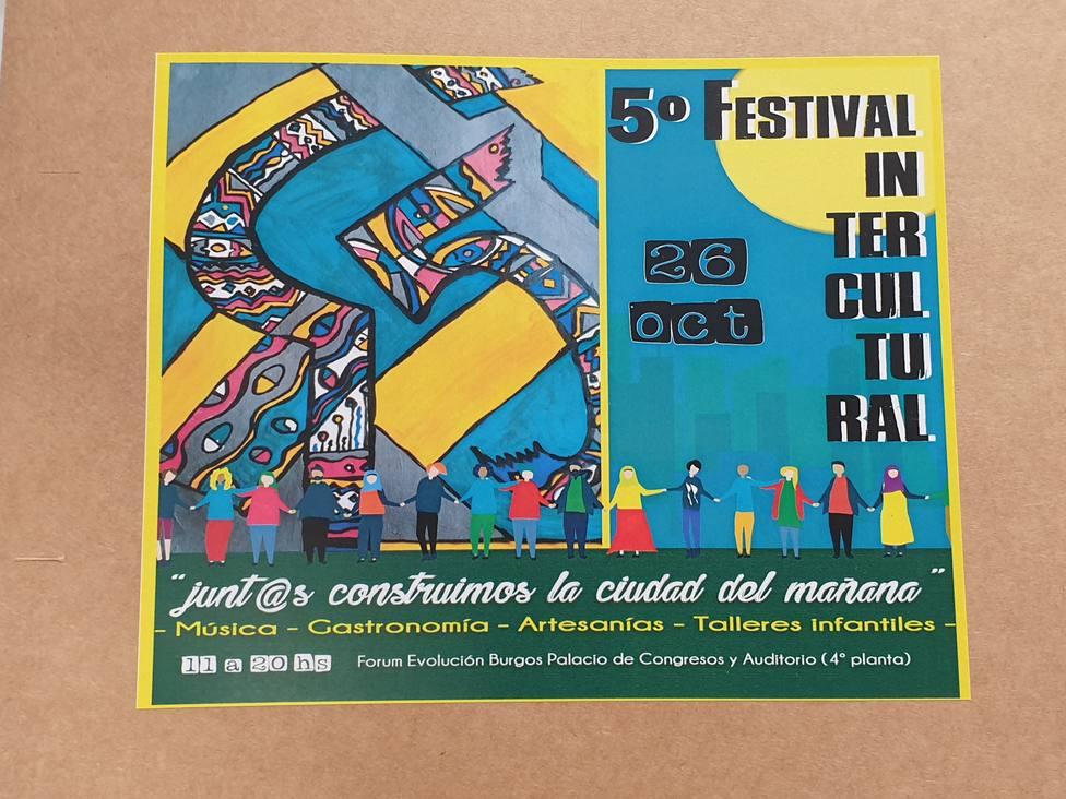 Resultado de imagen de 5 edicion del festival intercultural en burgos
