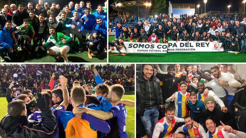 El Álamo, Intercity, Becerril y Andorra celebran el pase a la siguente ronda de la Copa del Rey