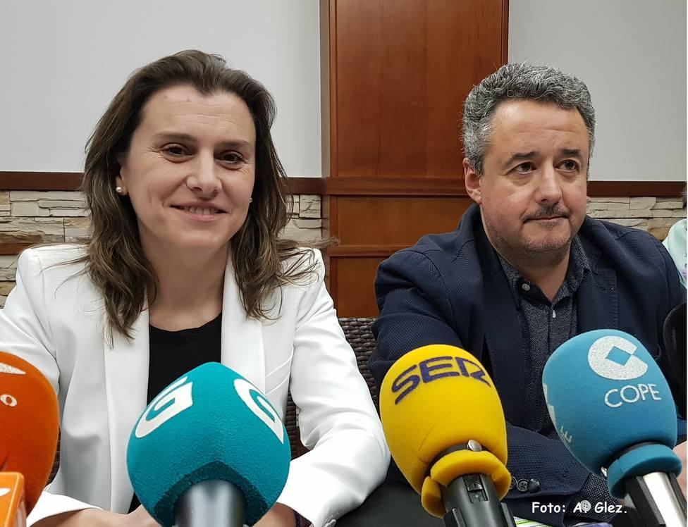 Natalia González y José Rúas