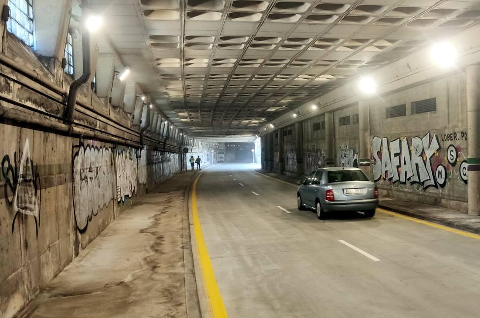 Imagen del pasillo de Guimbarda que se abrió hoy.