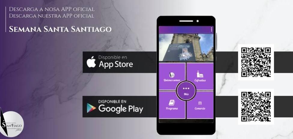 Imagen de la app de la Semana Santa de Santiago