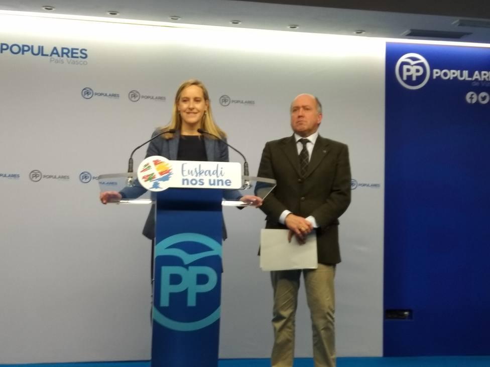 PP vasco pedirá responsabilidades políticas si Urkullu no aclara dudas justificadas sobre la tragedia de Zaldibar
