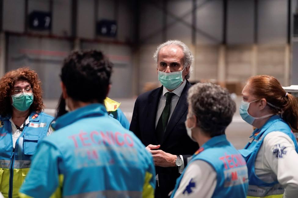 Madrid podría tener 55.000 pacientes con coronavirus o con sospecha de tenerlo en casa