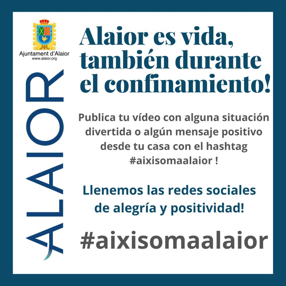 El Ayuntamiento de Alaior promueve #aixisomaalaior