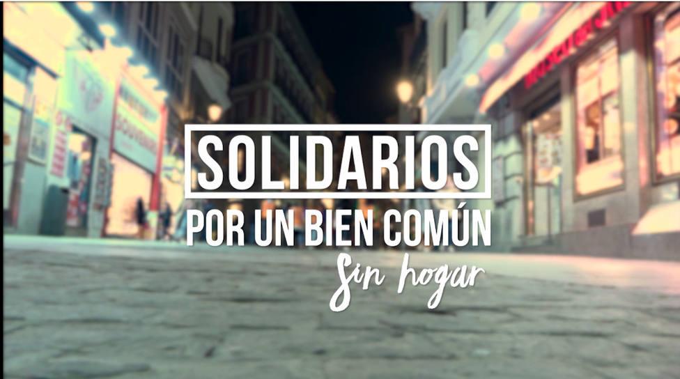 """""""Solidarios por un bien común"""" descubre este viernes el drama de las personas sin hogar"""