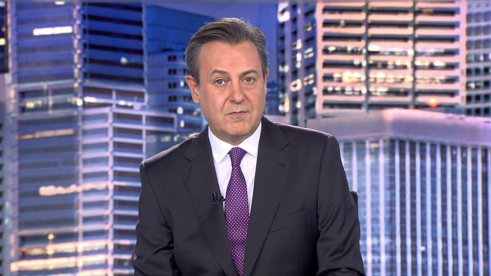 El presentador de Telecinco, José Ribagorda