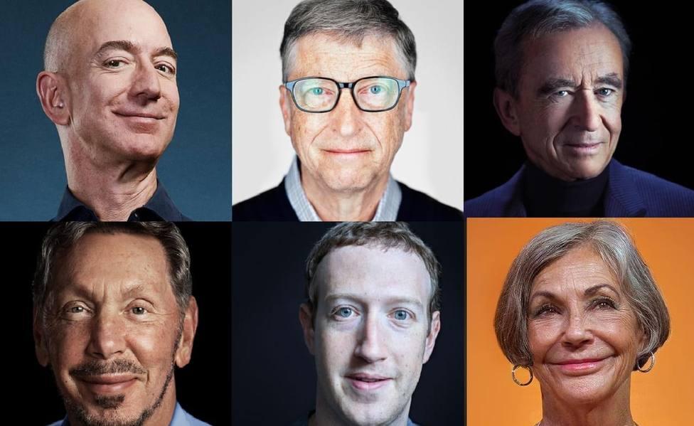 Estas son las 10 personas más ricas del munod en lo que llevamos de 2020