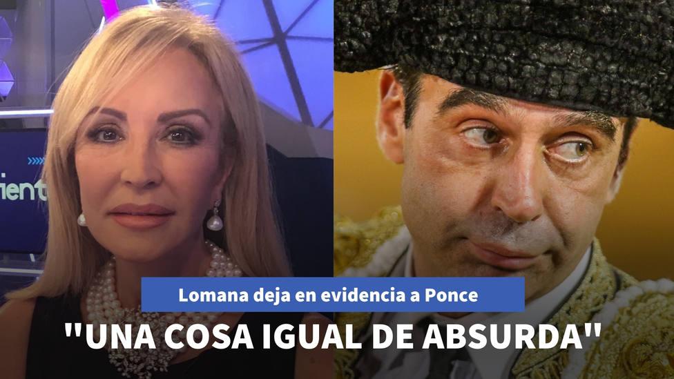 Carmen Lomana deja en evidencia a Enrique Ponce: No se ha visto una cosa igual de absurda