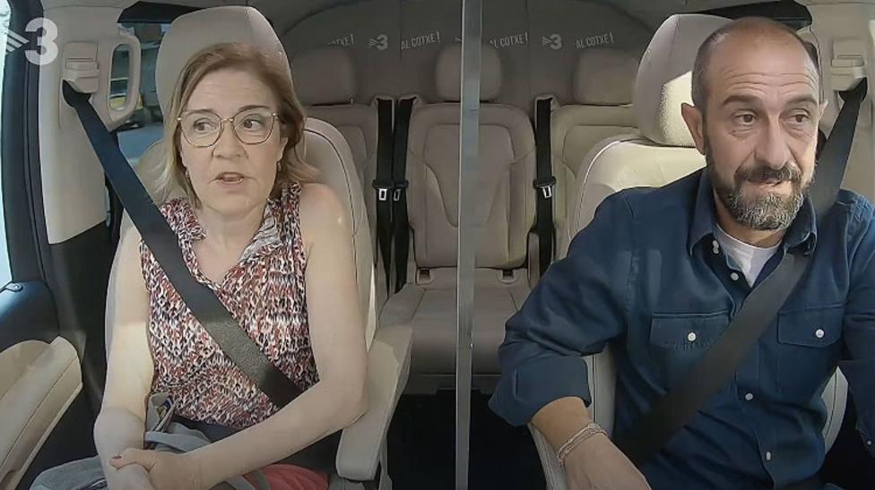 La actriz gallega Maria Pujalte fue entrevistada en TV3 en castellano a pesar de las criticas de la Plataforma