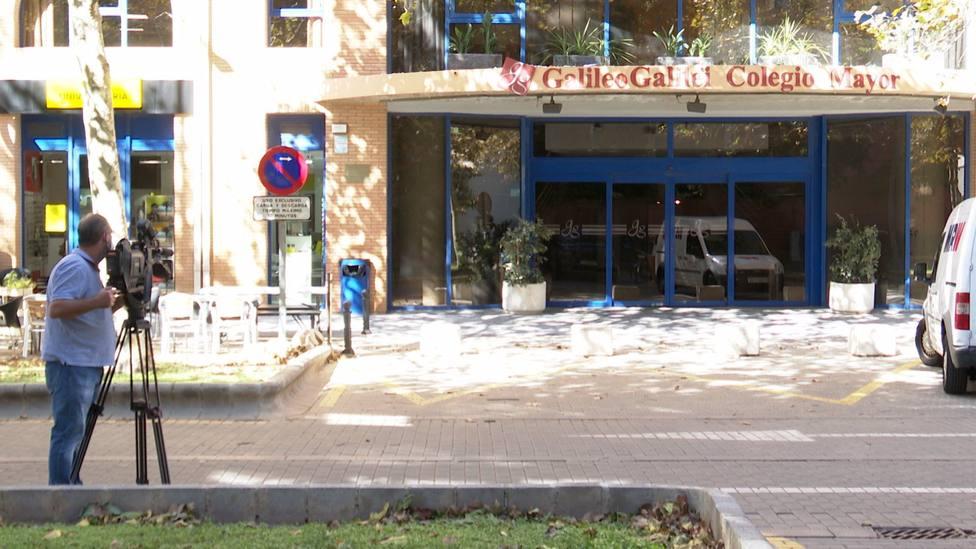 Entrada principal Colegio Mayor Galileo Galilei