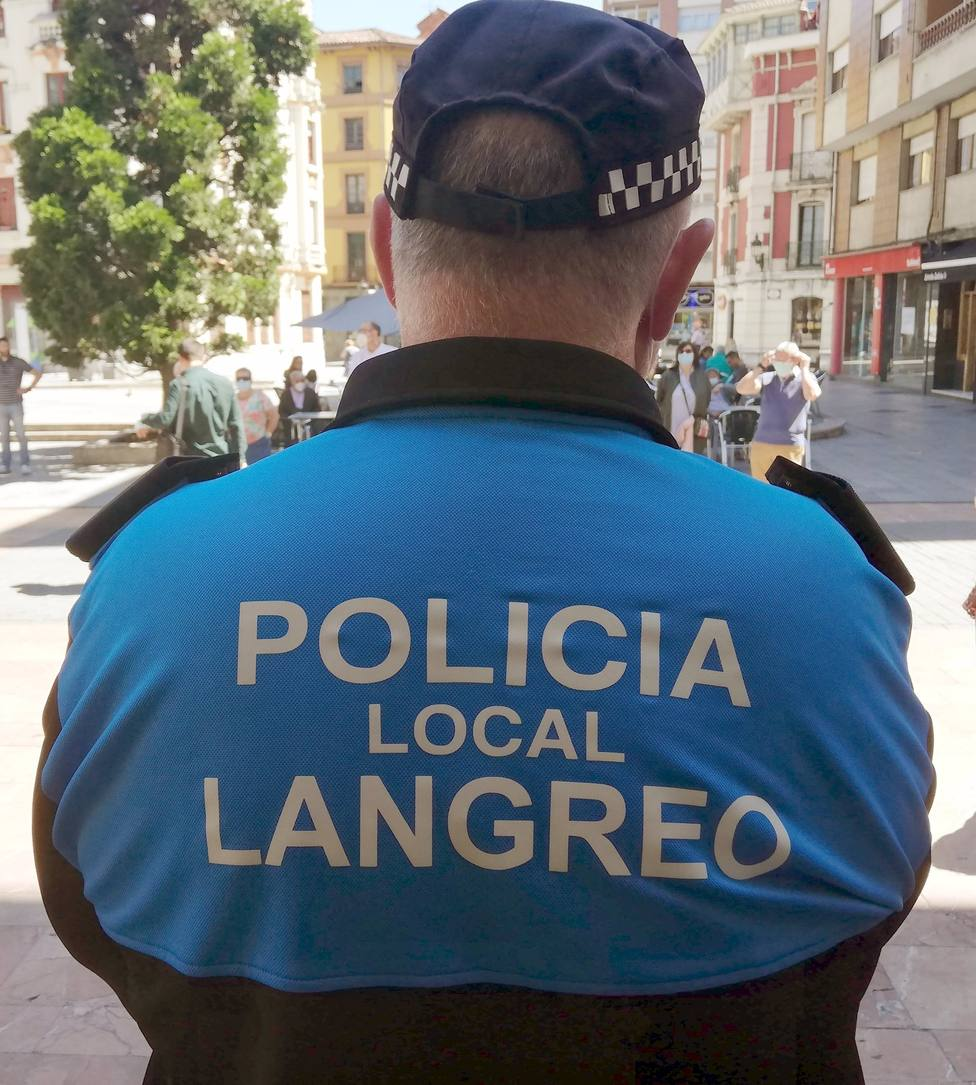 Agente de la Policía Local de Langreo