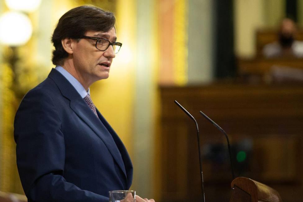 Salvador Illa informa en el Congreso sobre el estado de alarma en Madrid