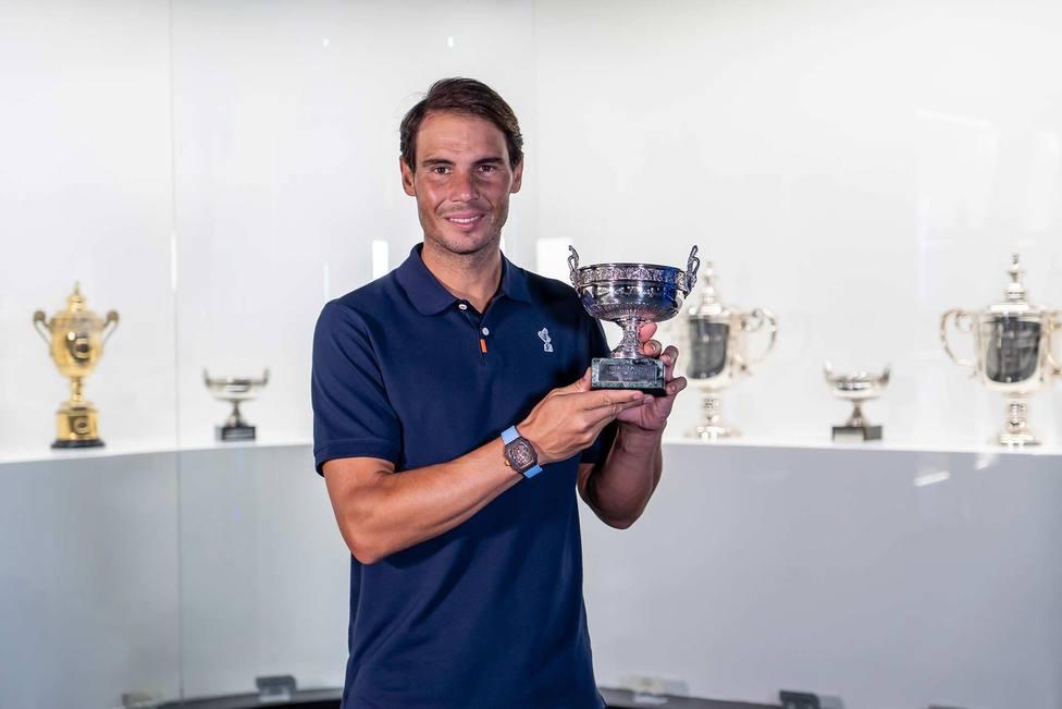 Rafa Nadal deposita su 20º título de Grand Slam en el Rafa Nadal Museum