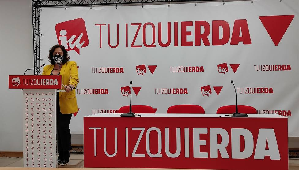 Henar Moreno, diputada de IU