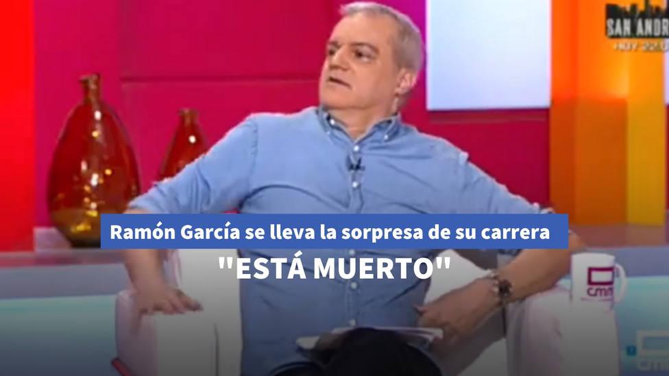 Ramón García se lleva la sorpresa de su carrera tras la revelación de una invitada en directo: Está muerto
