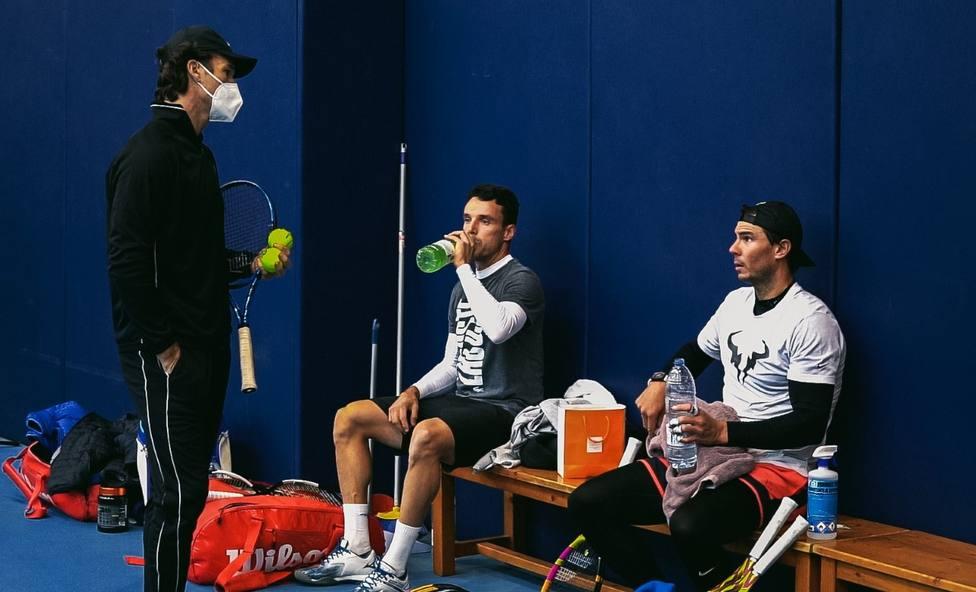 El tenista de Benlloc Roberto Bautista prepara junto a Rafa Nadal la temporada 2021