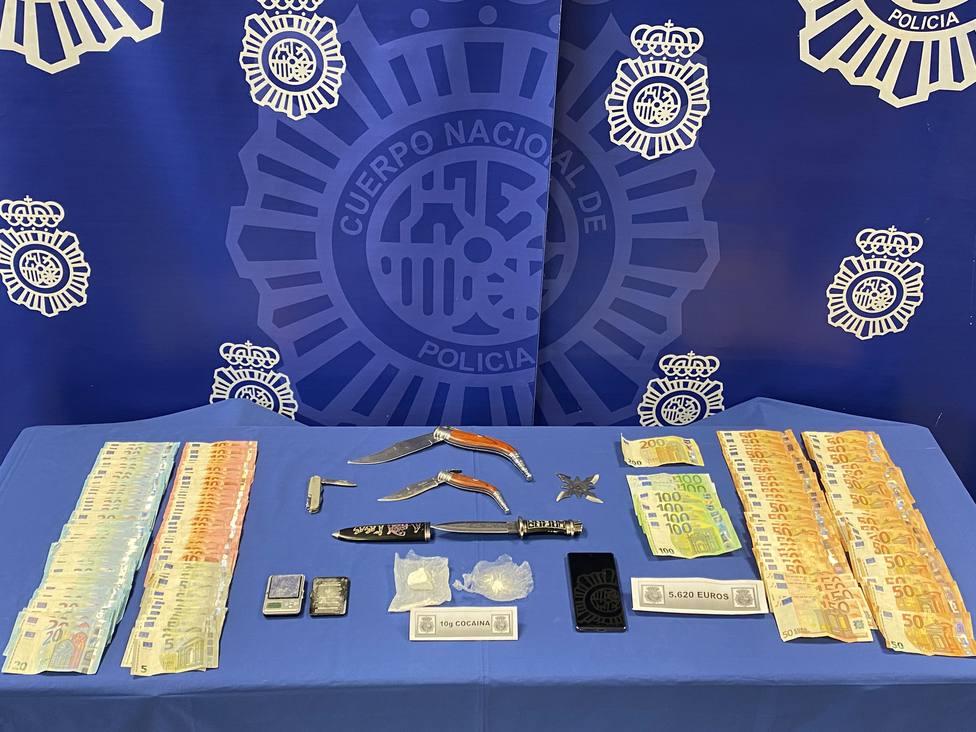 Desmantelado uno de los puntos de venta de cocaína más activo de Valladolid