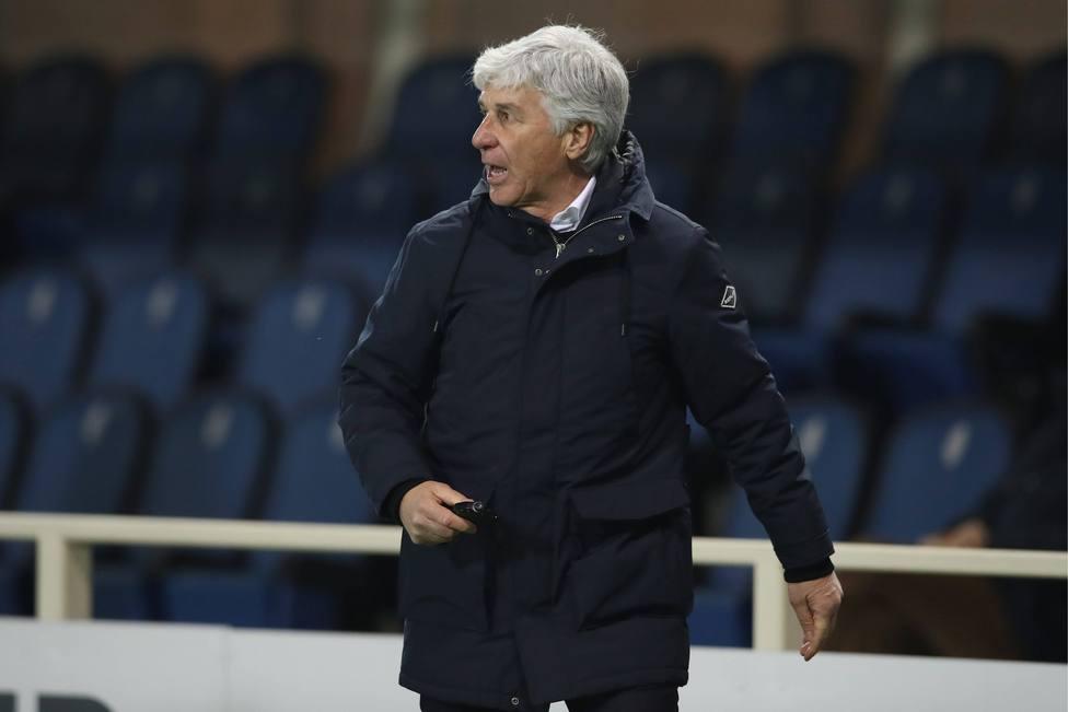 Gian Piero Gasperini, técnico del Atalanta
