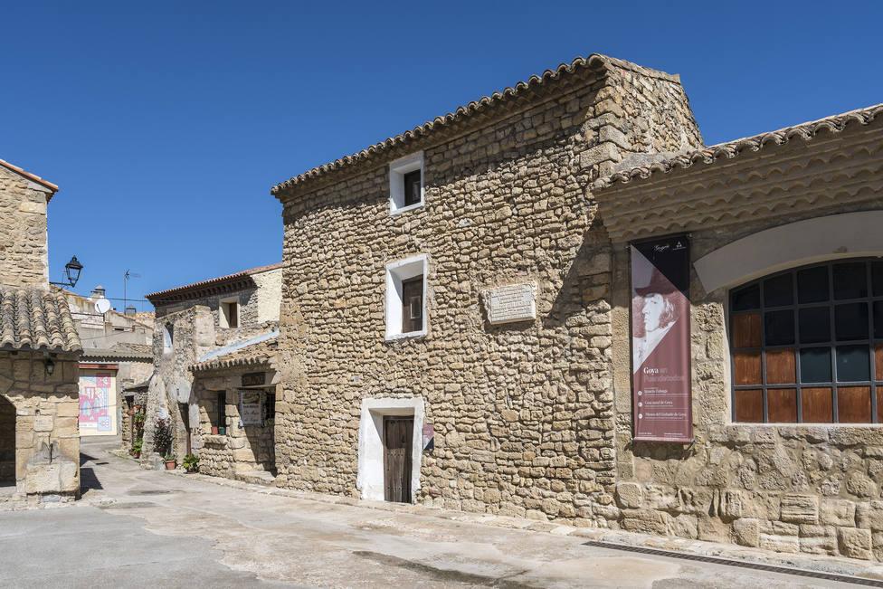 casa donde nació Goya