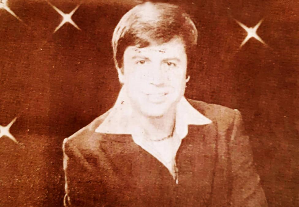 Foto de archivo de Pepe Romero en sus años como cantante