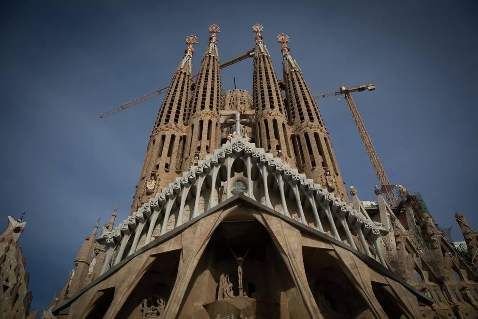 La Sagrada Familia en Barcelona, Catalunya - David Zorrakino - Europa Press - Archivo