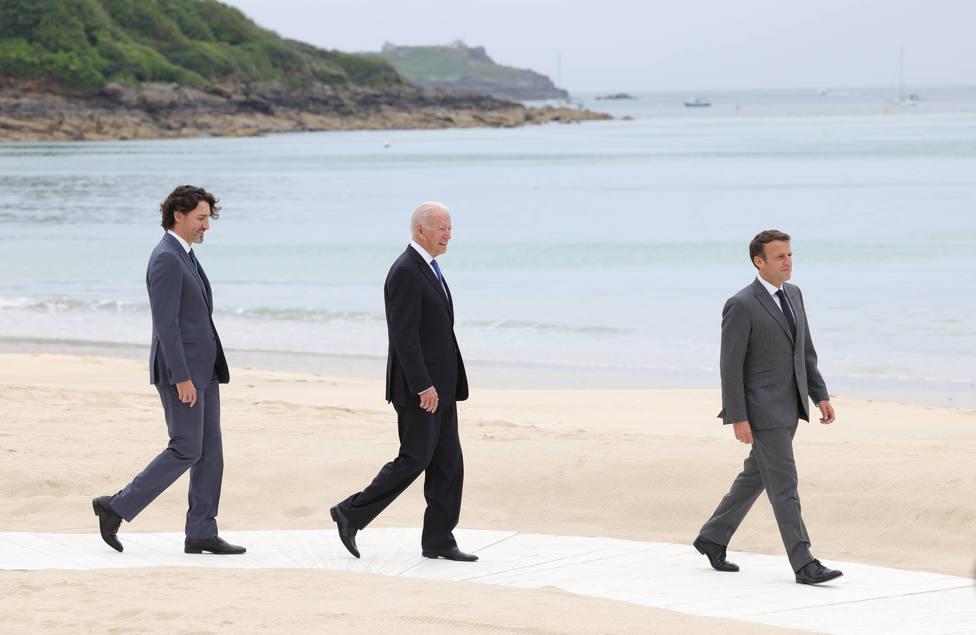 Biden muestra sintonía con Macron y considera que la UE es dinámica y fuerte