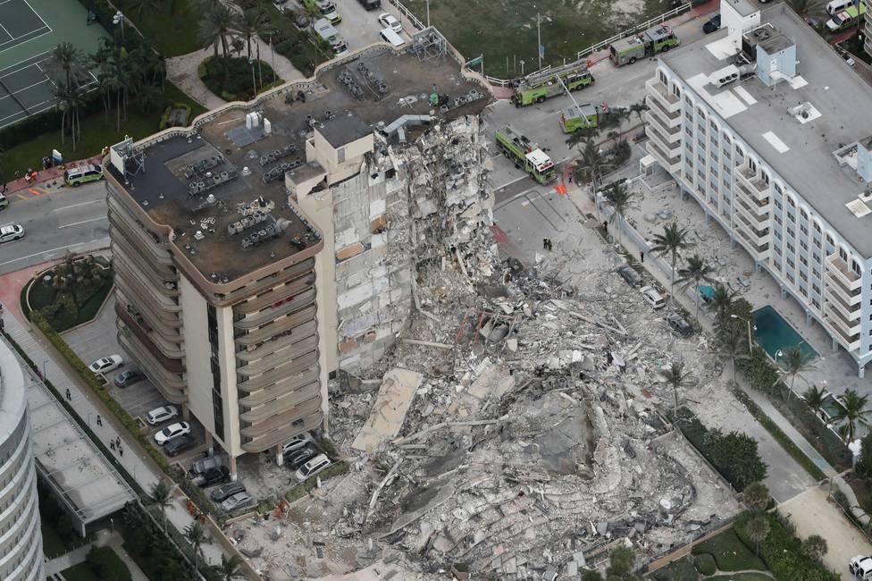 Las víctimas tras el derrumbe del edificio en Miami asciende a 94 los muertos