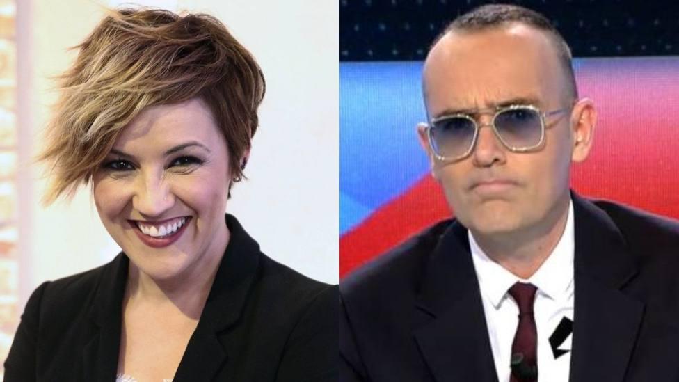 Cristina Pardo y Risto Mejide