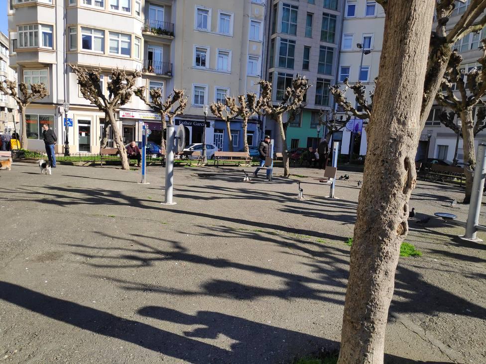 Plaza Padre Rubinos