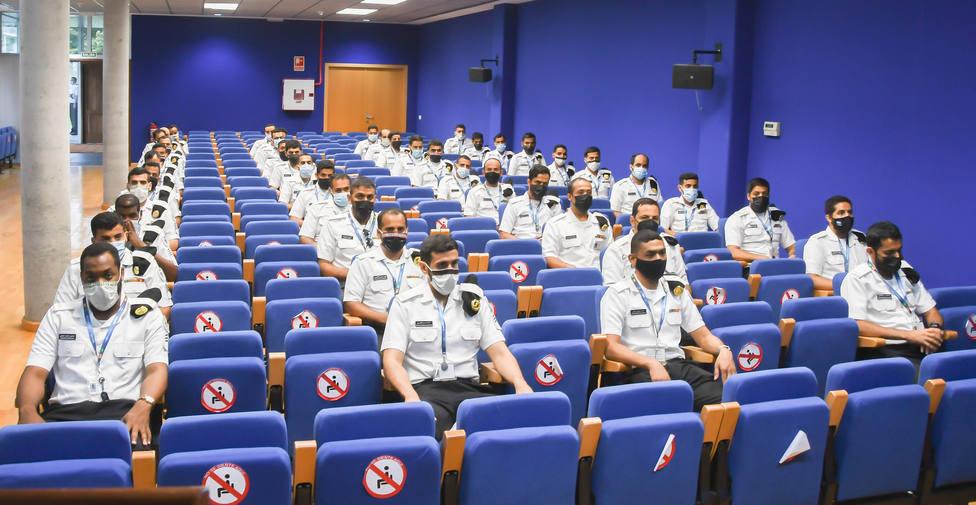 Segunda dotación de las corbetas Saudíes. FOTO: Armada