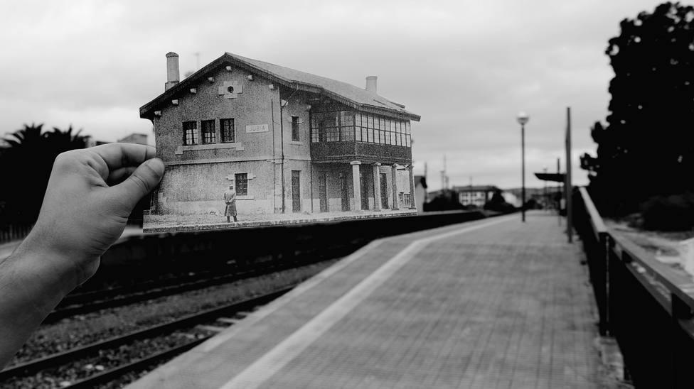 """La imagen """"Estación atemporal"""" logró el tercer premio - FOTO: Noelia Uceira Vilar"""