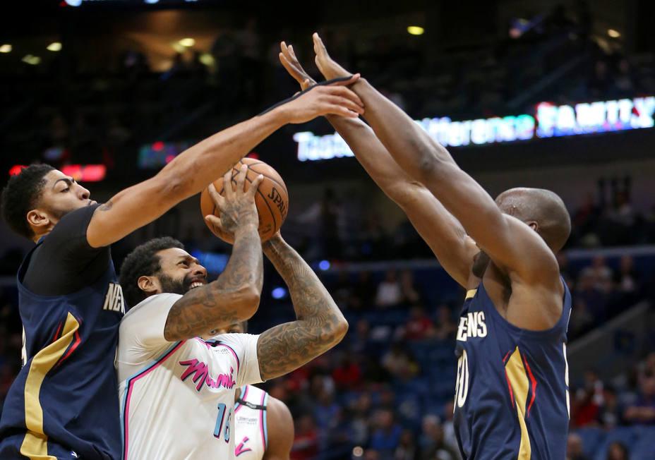 45 puntos y 17 rebotes de Anthony Davis en una noche con 8 españoles en juego