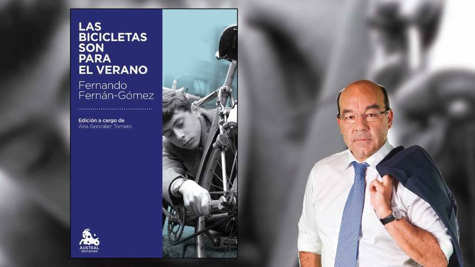 Las bicicletas son para el verano, el libro de Ángel Expósito