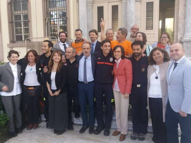Sevilla. Los diputados andaluces desplazados a Lesbos celebran el fin de la pesadilla: No habia caso ni delito