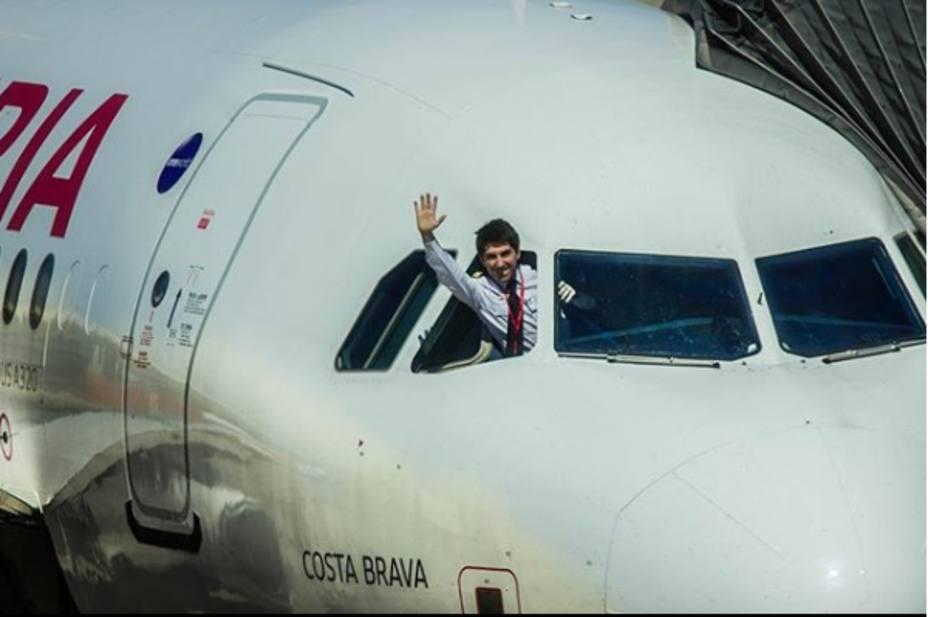 Un piloto español se vuelve viral al enseñar lo que nunca has visto de un avión