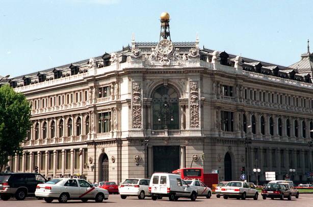 Sede del Banco de España en la Plaza de Cibeles de Madrid